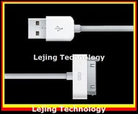 usb cable for iphone 4s 4G ipad ipod, usb data cable,data sync & power charge, usb 2.0, wholesale