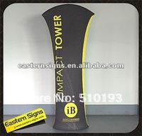 Promotion Curved Top Tension Fabric Display