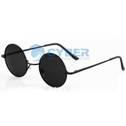 Free Shipping Black Retro Vintage Round Frame Lens Sunglasses Eyeglasses Tortoise New(China (Mainland))
