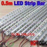 5050 0.5m LED Bar 12V Hard Rigid Strip Bar Light 36leds + Aluminium Alloy Shell Housing CE RoHS Tiras LED LED  Maiz x 10pcs