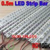Dropship 5050 0.5m LED Bar 12V Hard Rigid Strip Bar Light 36leds + Aluminium Alloy Shell Housing CE RoHS x 10pcs - free shipping