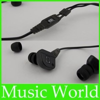 Free shipping  IE8i in-ear Earphones Headphones with mic and control talk for iphone/ipod/ipad