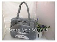 20pcs/lot Totoro Plush Toys Bag ,Stuffed Plush Bags, Animal Stuffed Toy Bag, Plush Handbag