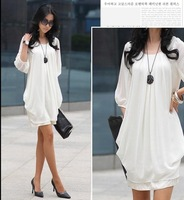 Fashion lady long flower's shirt/evening dress/woman skirtWomen's Dress Hot Sexy low chest backless skinny dress