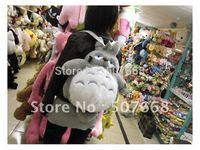 "20pcs/lot 16"" Totoro School Backpack Bags, Plush Backpack ,Stuffed Plush Toys Bags,School Bag"