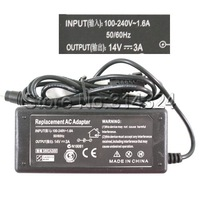 Free Shipping Power Adapter Charger AC 100-240V to DC 14V 3A Adapter for Samsung Laptop