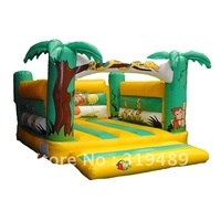 2012 hot sale inflatable  bouncer +1 free CE/UL air blower+free shipping-CHO-BC047