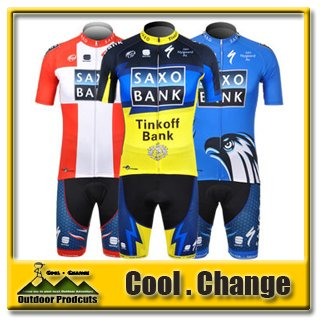 2012 Saxo Bank Short Sleeve Cycling Jerseys Short Set/Cycling Wear/Cycling Clothing Bibs Set Vest Free Shipping