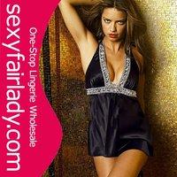 2012  Fashion black sexy underwear black sexy corset black sexy babydoll lingerie