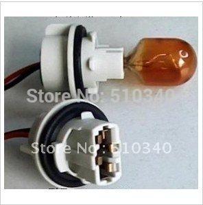 T20 lamp holder .single wire lamp holder (two lines) ,special for brake light/backup light lamp holder(China (Mainland))