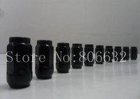 """12x1.5 Black Standard Acorn Lug Nuts Brand New Wheel Nuts 3/4"""" HEX 20pcs/set"""