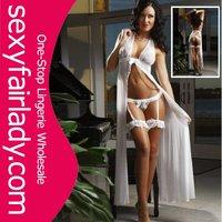 Hottest fashion women sexy white lingerie 2012 new style Plus size bridal lingerie