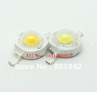 3.0-3.5V 1W white High power led 80-90LM led diode(350mA high lumen led) 50PCS wholesale