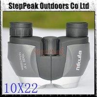 Foldable Nikula 10X22 Binoculars Telescope,Professional Binoculars,107m/1000m(ATP-022)+Free Shipping