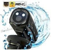 Mini HD Sports Camera DV76 (1080p, 20 Meter Waterproof, LED + Laser Light, HDMI),Free Shipping