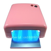 Free Shipping 36w Nail uv curring dryer nail lamp with 4 uv light