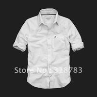 2012 Autumn men's fashion cotton European casual business classic style long-sleeved shirts hotsale an discounts S M L XL