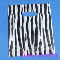 Free Shipping 100 High Quality Plastic Retail Gift Shopping Bags 25X20cm XA2025-16