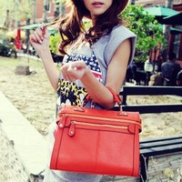 Клатч Shipping Hot-selling fashion handbag genuine leather scrub single shoulder bag