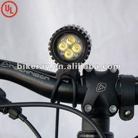 Free shipping  1600lm 12W HIGH Power waterproof LED bike lightings/LED Cycle lightings(RAY IV)