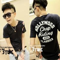 2012 short-sleeve male t-shirt short-sleeve 100% cotton t-shirt