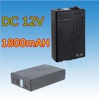 DC 12V 1800mah Super Rechargeable Li-ion Battery Free Shipping