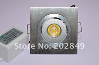 1W square led downlight, led lamp AC 85-265v Replace 10w Halogen  Led Downlight ,ceiling light 2 Years Warranty ,