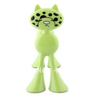 endearing Cat Shaped Paper Towel Holder (Random Color)-60794