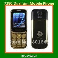 7380 dual sim camera large 3D sound music phone