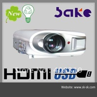 lower cost 3d full hd led projector for ktv /hotel/bar/ home theater with high brgihtness 2500 lumens