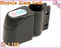 freee shipment Keyless Bicycle Security Mope Bike Motorbike Lock Alarm Whosale/retail