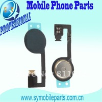FWholesale joystick For iphone 4S Home Key Button Flex Replacement Parts Repair parts