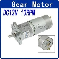 Wholesale DC 12V 10 RPM 6mm Shaft Flange Mount Magnetic Gearbox Electric Motor 37mm