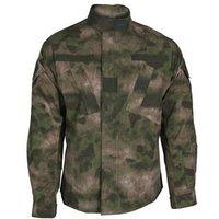 1Sets A-TACS FG A TACS FG ACU Coat 65 35 Poly Cotton Ripstop military army clothes   Size:XS S M L XL XXL