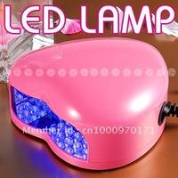 free shipping 3w Pink uv gel curing uv lamp Nail LED UV Lamp