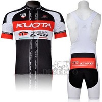 Kuota Short Sleeve Cycling Jersey +Bib Shorts #3253