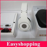 Hot sale Free shipping white/black Studio DJ headphone,headset with factory sealed box