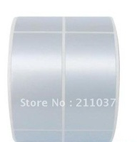 Manufacturers of consumer ( dumb ) silver ( PET/PVC ) waterproof high temperature corrosion resistant label paper barcode paper