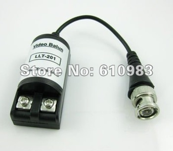 Free shipping(5 pair/lot) security cctv Video Balun passive color Video transmission over CAT5 transceiver