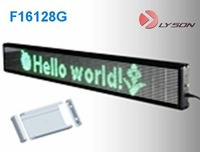 P7.62mm 16*96 dots Standard Display Screen,bus led sign