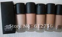 5 pcs New Minerlize Satinfinish Liquid Foundation SPF15 30ml! Free shipping
