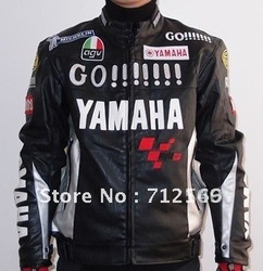 Free shipping 1PCS Racing protection PU leather Jacket .Motocross clothing,motorcycle,Cycling,motor jacket(China (Mainland))