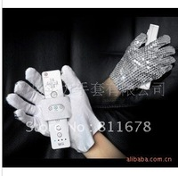 MJ Michael Jackson watches with sequins gloves acting performances gloves DS JAZZ JAZZ dance gloves