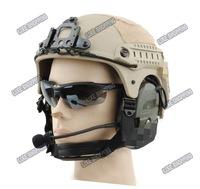 tactical Helmet with NVG Mount N Side Rail