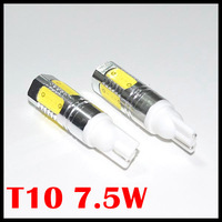 Wholesale auto light car lamp T10 7.5w car led bulb led wedge bulb  194 168 192 W5W lamp