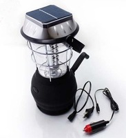 solar led lantern hand crank and solar power charger 36 led solar led lantern  light