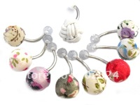 Free Shipping! Wholesale cloths belly ring navel ring Piercing Body Jewelry 294