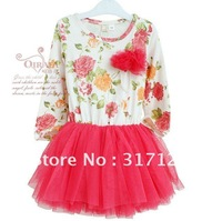 Юбка для девочек BABY TODDLER GIRLS TUTU SKIRTS B2W2 CHILDREN FASHION LACE SKIRTS KIDS FLOWER SKIRTS 5PCS/LOT