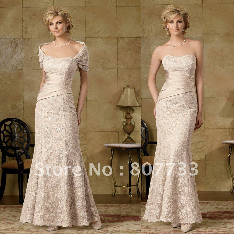 Champagne Color Mother Of The Bride Dresses - Amore Wedding Dresses