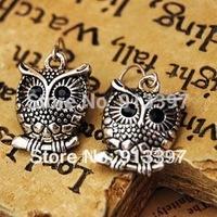 50 Pairs Retro Nice HOT OWL Animal Korean All-match Fashion Earring Joker Drop Earrings